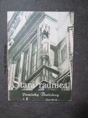 náhled knihy - Stará radnice. Pamiatky Bratislavy č. 2