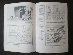 náhled knihy - Minikalendář Dikobrazu 1985