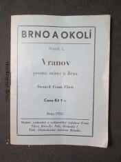 náhled knihy - Brno a okolí. Svazek 2. Vranov, poutní místo u Brna