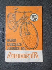 náhled knihy - Návod k obsluze jízdních kol Liberta