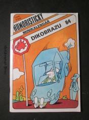 náhled knihy - Humoristický minikalendář Dikobrazu 84