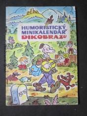 náhled knihy - Humoristický minikalendář Dikobrazu 1976