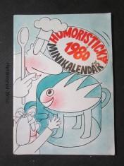 náhled knihy - Humoristický minikalendář 1980