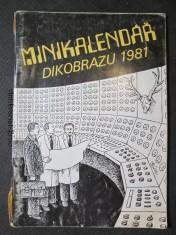 náhled knihy - Minikalendář Dikobrazu 1981