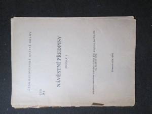 náhled knihy - Návěstní předpisy. Změna č. 1