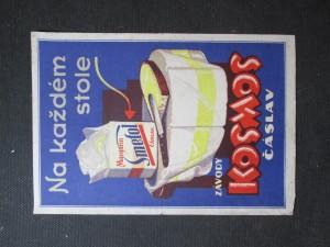 náhled knihy - Plakát Závody Kosmos Čáslav