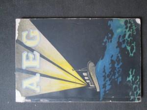 náhled knihy - AEG. Elektrizitat auf Schiffen