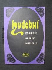 náhled knihy - Katalog hudebních komedií, operet a muzikálů