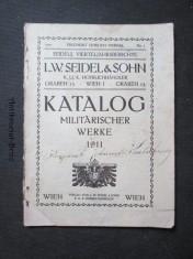 náhled knihy - Katalog  Militärischer werke