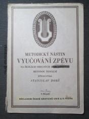 náhled knihy - Metodický nástin vyučování zpěvu na školách obecních i občanských metodou tonální