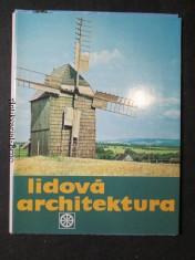 náhled knihy - Lidová architektura. Soubor 15 barevných listů v obálce