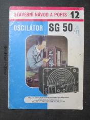 náhled knihy - Oscilátor SG 50/II