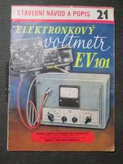 náhled knihy - Elektronkový voltmetr EV101