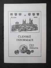 náhled knihy - Členské informace, ČNS pobočka Jihlava