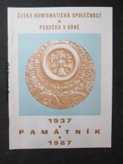 náhled knihy - Památník 1937 - 1987