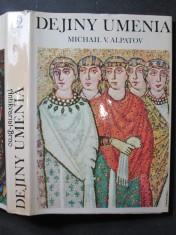 náhled knihy - Dejiny umenia. Stredoveké umenie 2