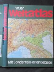 náhled knihy - Neuer Weltatlas. Mit Sonderteil Feriengebeite