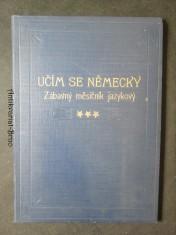 náhled knihy - Učím se německy. Zábavný měsíčník jazykový. III. ročník. leden 1931. č. 1 - 12
