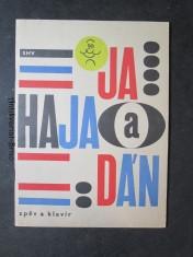 náhled knihy - Hajaja a Hajadán - 12 písní z oblíbeného rozhlasového pořadu - zpěv a klavír