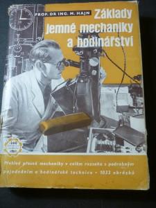 náhled knihy - Základy jemné mechaniky a hodinářství : přehled přesné mechaniky v celém rozsahu s podrobným pojednáním o hodinářské technice