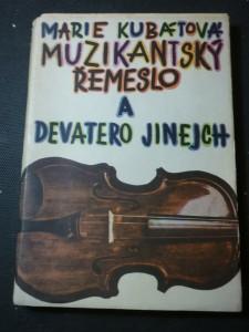 náhled knihy - Muzikantský řemeslo a devatero jinejch
