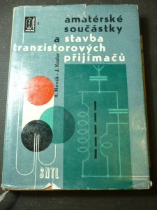 náhled knihy - Amatérské součástky a stavba tranzistorových přijímačů