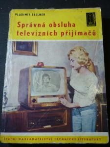 náhled knihy - správná obsluha televizních přijímačl