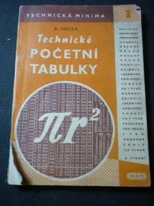 náhled knihy - Technické početní tabulky : Příruč. pro praxi i pro odb. šk.