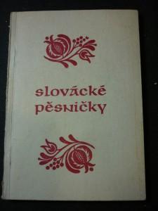 náhled knihy - slovácké pěsničky