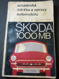 náhled knihy - Amatérská údržba a opravy automobilu Škoda 1000 MB
