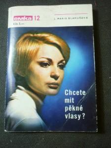 náhled knihy - chcete mít pěkné vlasy ?
