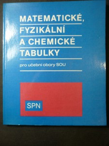 náhled knihy - Matematické, fyzikální a chemické tabulky pro učební obory středních odborných učilišť