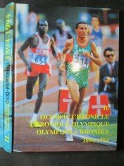 náhled knihy - II. Olympijská kronika 1894 - 1994