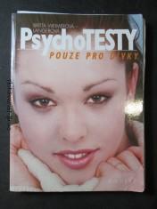 náhled knihy - Psychotesty pouze pro dívky