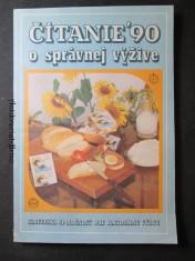náhled knihy - Čítanie 90 o správnej výžive. XXXI. ročník