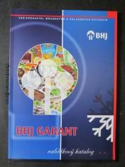náhled knihy - BHJ Garant. Nabídkový katalog