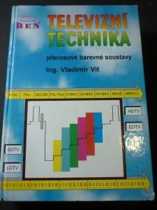 náhled knihy - Televizní technika : přenosové barevné soustavy