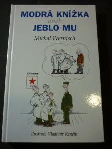 náhled knihy - Modrá knížka, aneb, Jeblo mu