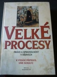 náhled knihy - velké procesy právo a spravedlivost v dějinách