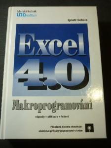 náhled knihy - Excel 4.0 : makroprogramování : nápady, příklady, řešení