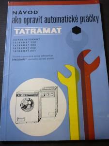 náhled knihy - návod ako opraviť automatické práčky