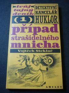 náhled knihy - Případ strašidelného mnicha