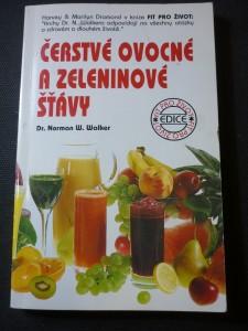 náhled knihy - Čerstvé ovocné a zeleninové šťávy