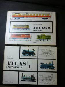 náhled knihy - Atlas lokomotiv I.,II.