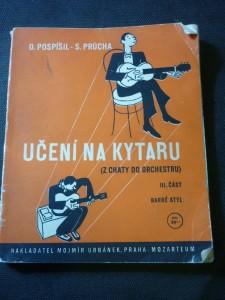 náhled knihy - Učení na kytaru. Část 3, (Z chaty do orchestru) barré-styl