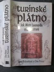 náhled knihy - Turínské plátno : jak Mistr Leonardo ošálil historii