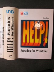 náhled knihy - Help! Paradox for Windows