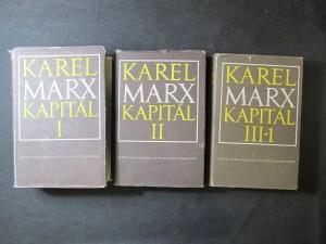 náhled knihy - Karel Marx Kapitál I, II, III-1
