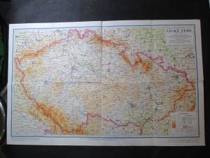 náhled knihy - Mapa České země
