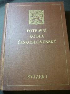 náhled knihy - Potravní kodex československý. I. svazek, kapitoly I.-XX.